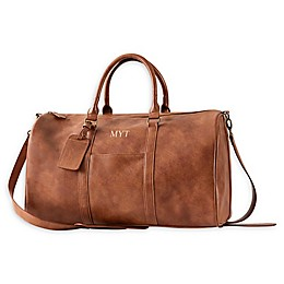 Cathy's Concepts Vegan Leather Duffle Bag in Brown