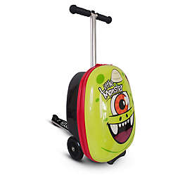 Zincflyte Sid the Cyclops 19-Inch Rolling Luggage Scooter in Green
