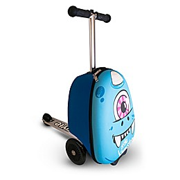 Zincflyte Sid the Cyclops Rolling Luggage Scooter in Blue