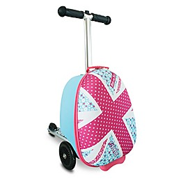 Zincflyte Mini Daisy Rolling Luggage Scooter