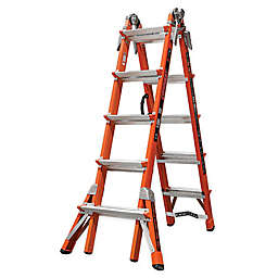 Little Giant® 22-Foot Conquest Type IA Fiberglass Ladder with V-Rung in Orange