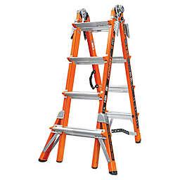 Little Giant® Conquest Type IA Fiberglass Ladder in Orange