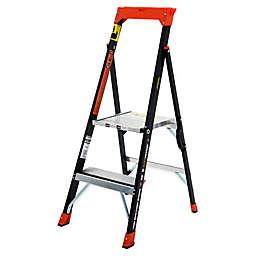 Little Giant® AirWing Type IAA Fibgerglass Step Ladder in Black