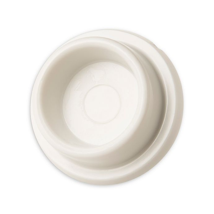 Alternate image 1 for Round Wall Doorstop in White