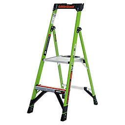 Little Giant® MightyLite Type IA Fiberglass Step Ladder in Green