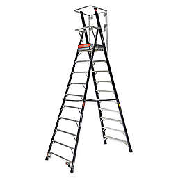 Little Giant® Compact Safety Cage 10-Foot Ladder