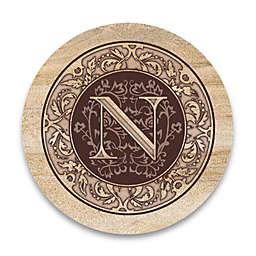 "Monogram Letter ""N"" Coasters (Set of 4)"