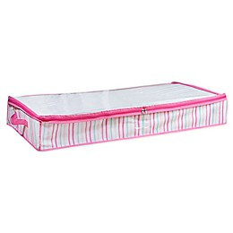 Laura Ashley Kids Under-the-Bed Storage Bag in Pink