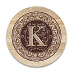 Monogram Letter  K  Coasters (Set of 4)