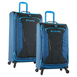 Columbia Kiger Spinner Checked Luggage in Blue/Black