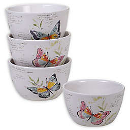 Certified International Spring Meadows Cereal Bowls (Set of 4)
