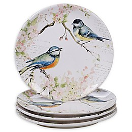 Certified International Spring Meadows Dinner Plates (Set of 4)