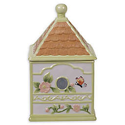 Certified International Spring Meadows Birdhouse Cookie Jar