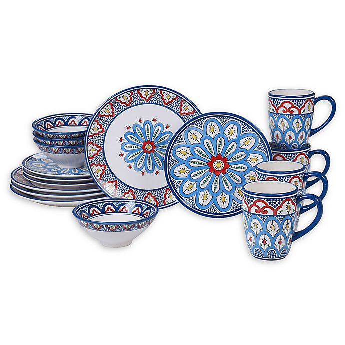 Alternate image 1 for Certified International Tangier Dinnerware Collection