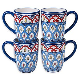 Certified International Tangier Mugs (Set of 4)