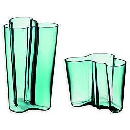 Iittala Alvar Aalto Vase in Sea Blue