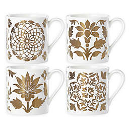 Lenox® Global Tapestry Gold™ Mugs (Set of 4)