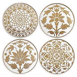 Lenox® Global Tapestry Gold™ Tidbit Plates (Set of 4)