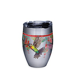Tervis® Colorful Hummingbirds 12 oz. Stemless Wine Glass with Lid