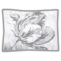 New York Botanical Garden Merian Tulip Standard Pillow Sham in Natural