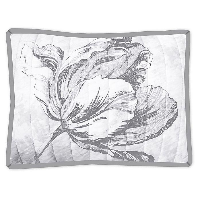 Alternate image 1 for New York Botanical Garden Merian Tulip Standard Pillow Sham in Natural