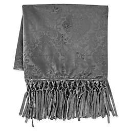 HiEnd Accents Diane Throw Blanket in Grey