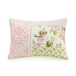 Mary Jane's Home Sweet Blossoms Standard Pillow Sham in Pink