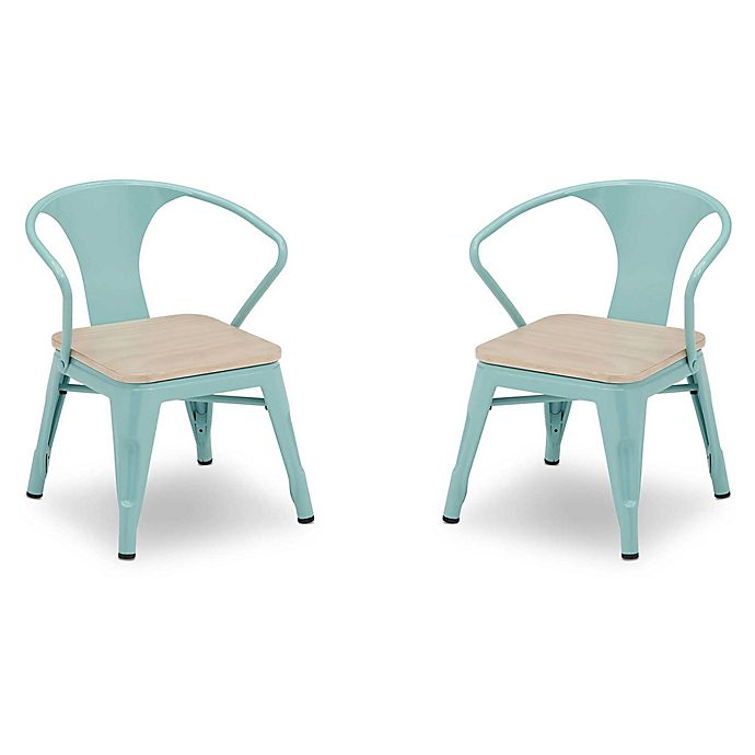 Alternate image 1 for Delta Children Bistro Kids Chairs (Set of 2)