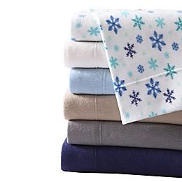 Morgan Home Ultra Plush Fleece Snow King Sheet Set