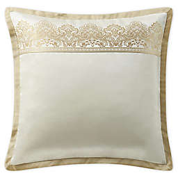 Marquis® by Waterford Russell Square European Pillow Sham in Gold