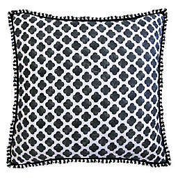 New York Botanical Garden® Rosalie European Pillow Sham in Black