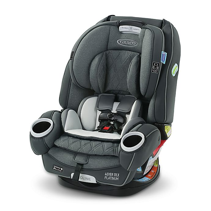 Alternate image 1 for Graco® 4Ever® DLX Platinum 4-in-1 Convertible Car Seat in Flynn