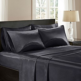 Madison Park Essentials Wrinkle Free Satin Pillowcases (Set of 2)