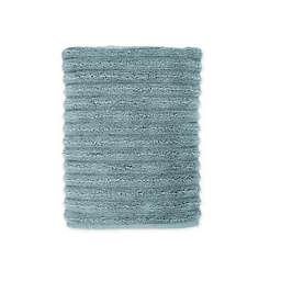 Turkish Luxury Ribbed Bath Towel in Sea