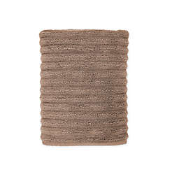 Turkish Luxury Collection Ribbed Bath Towel in Sand