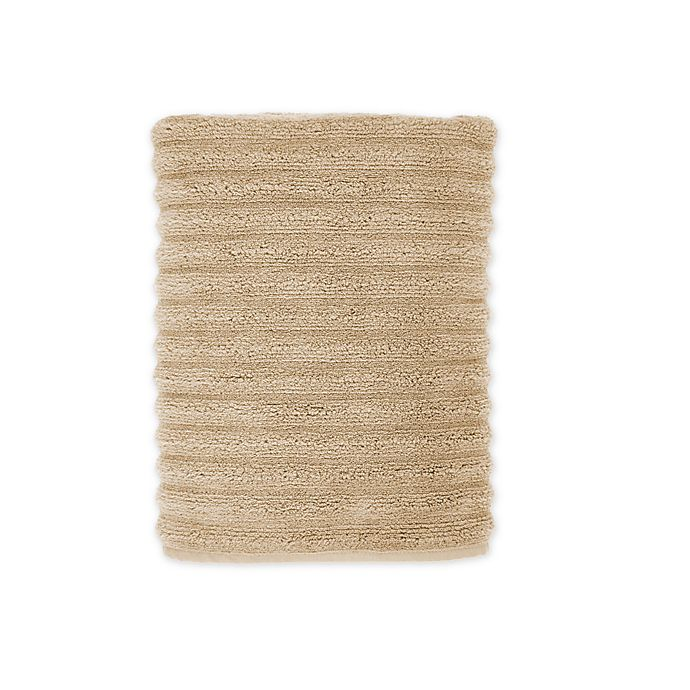 Alternate image 1 for Turkish Ribbed Bath Towel in Champagne