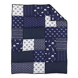 NoJo® Serendipity Mix and Match Animal Comforter in Navy