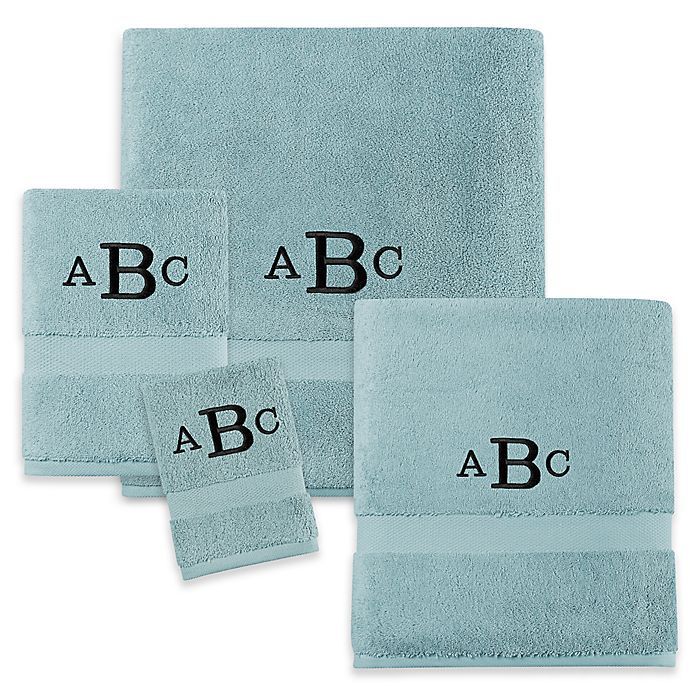 Alternate image 1 for Wamsutta® Personalized 805 Turkish Cotton Towel Collection