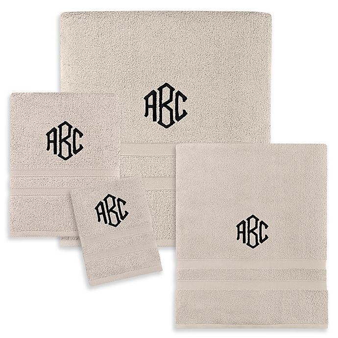 Alternate image 1 for Monogrammed  Wamsutta®  Ultra Soft MICRO COTTON Bath Towel Collection