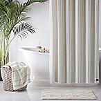 UGG® Skye Striped 72-Inch x 84-Inch Shower Curtain in Green