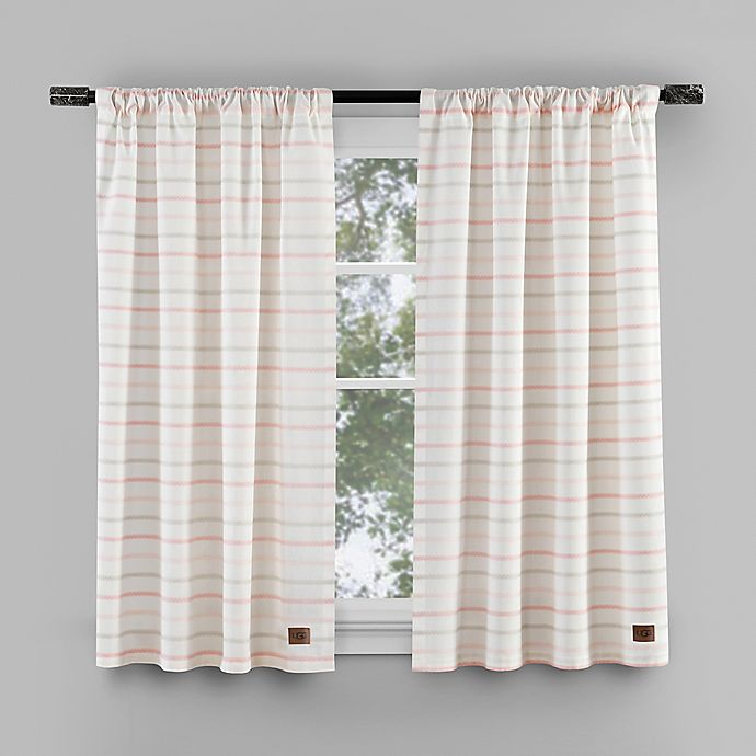Alternate image 1 for UGG® Lena Bath Window Curtain Collection