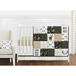 Sweet Jojo Designs Woodland Camo Crib Bedding Collection