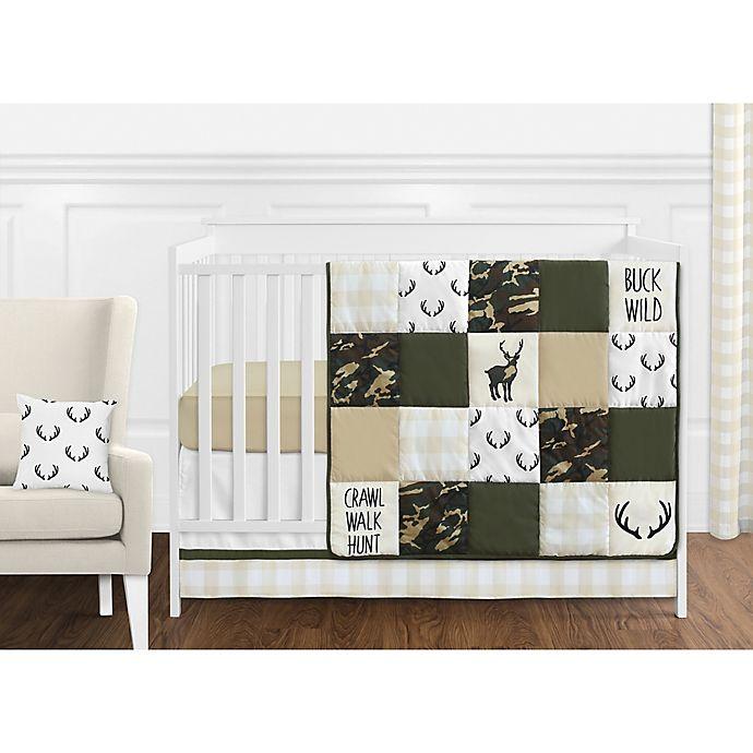 Sweet Jojo Designs Woodland Camo Crib Bedding Collection ...