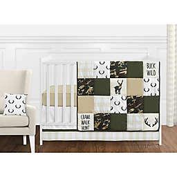 Sweet Jojo Designs Woodland Camo Crib Bedding Collection