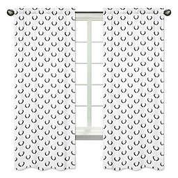 Sweet Jojo Designs® Woodland Camo Antler 84-Inch Rod Pocket Window Curtain Panels (Set of 2)