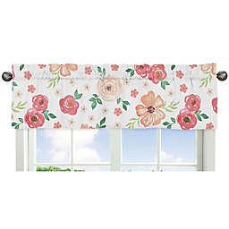 Sweet Jojo Designs® Watercolor Floral Window Valance