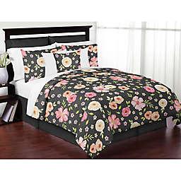 Sweet Jojo Designs Watercolor Floral Bedding Collection
