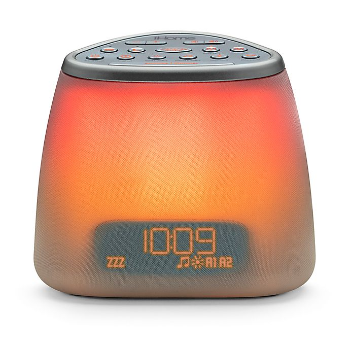 Alternate image 1 for iHome® Zenergy™ Bluetooth® Bedside Sleep Therapy Mini Machine