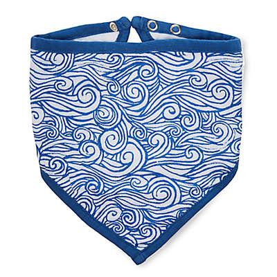 aden + anais® Seafaring Bandana Bib in Blue