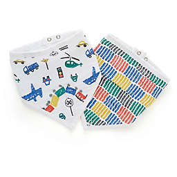 aden® by aden + anais® 2-Pack Trucking Along Bandana Bibs